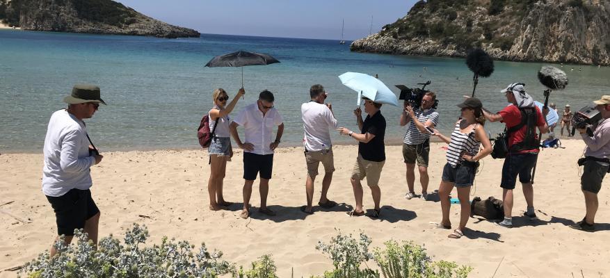 Voidokoilia Beach, The Trip to Greece