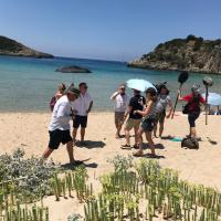 The Trip to Greece, beach, Rob Brydon , Steve Coogan,
